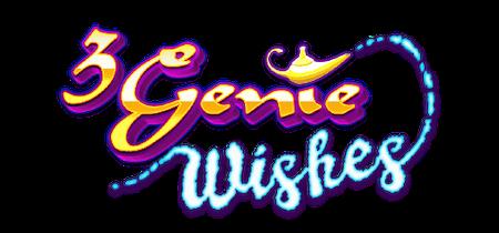 3 Genie Wishes Slot Logo No Deposit Slots