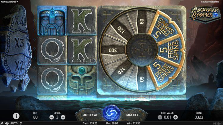 Asgardian Stones Slots Wheel