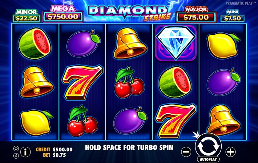Diamond Strike Slots Gameplay