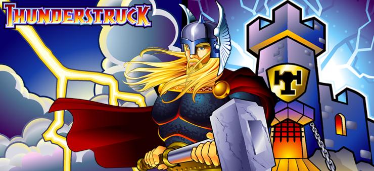 Thunderstruck Slot Logo No Deposit Slots
