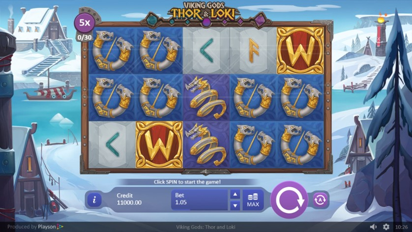 Viking Gods Slot Reels