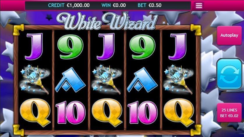 White Wizard Slot Gameplay