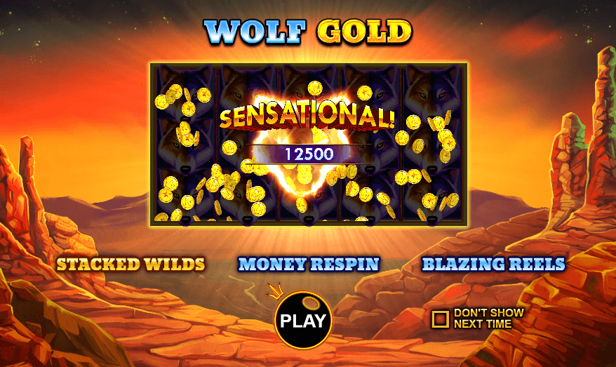 Wolf Gold Slots Info