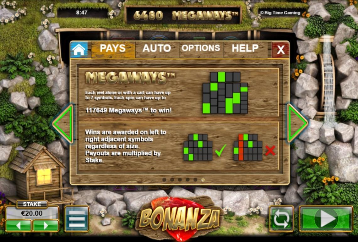 Bonanza Slot Info