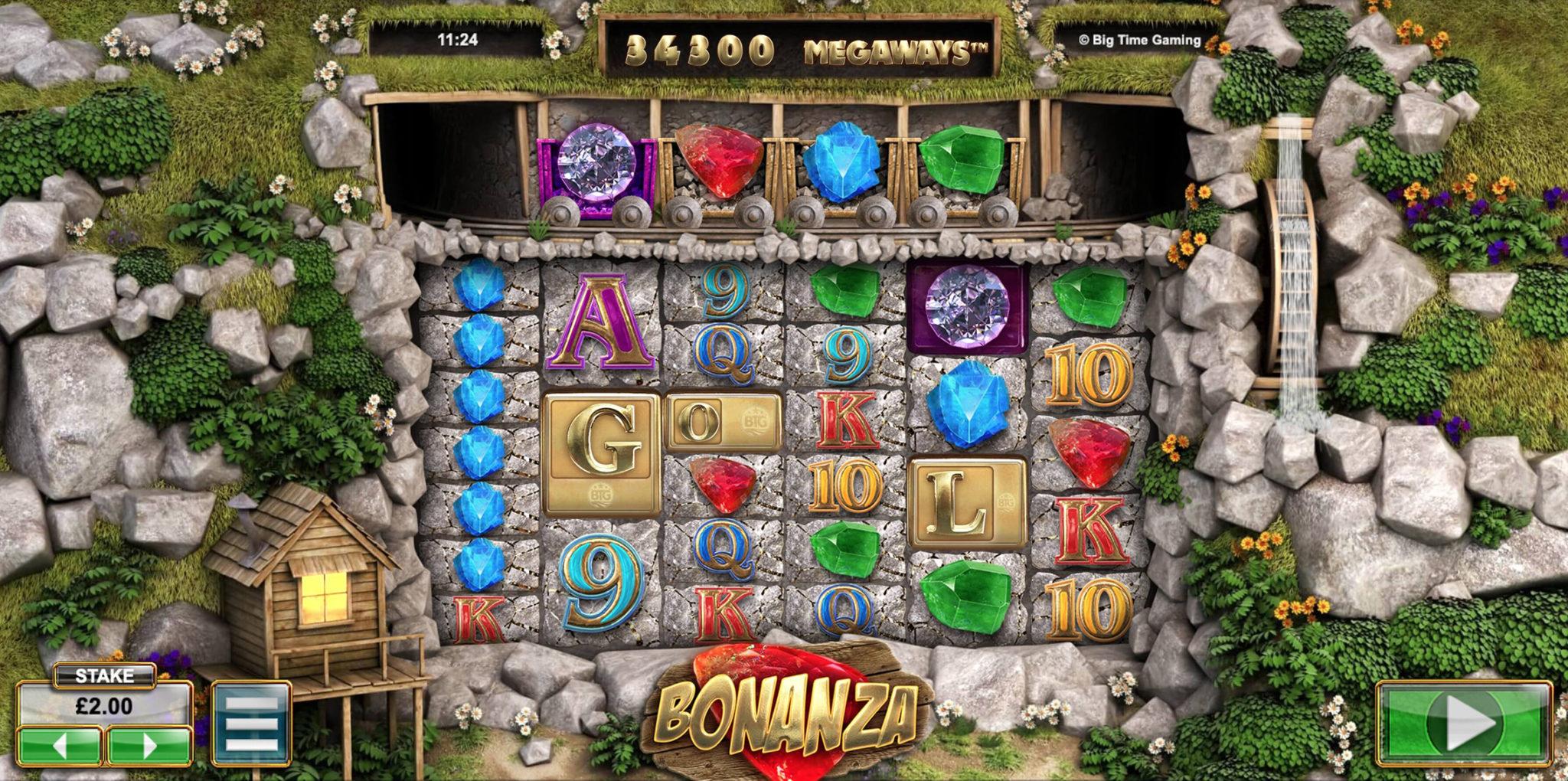 Bonanza Slots Board
