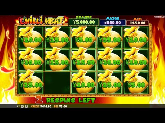 Chilli Heat Slots Gameplay