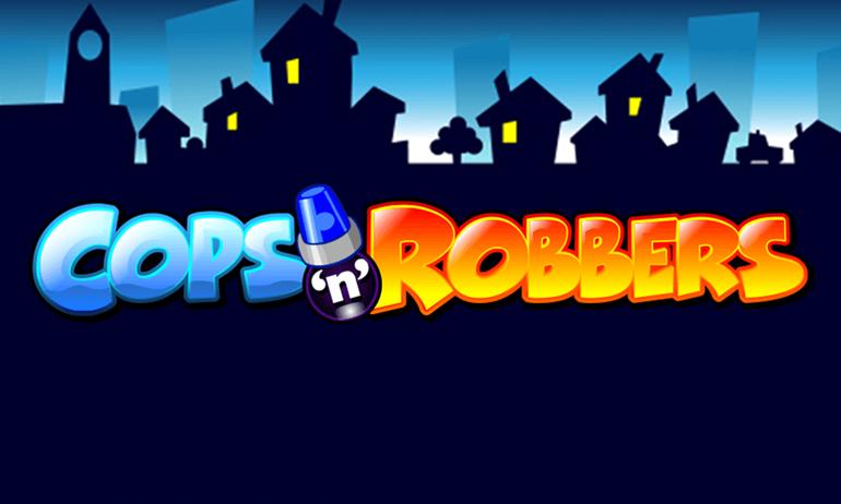 Cops And Robbers Slot Logo No Deposit Slots
