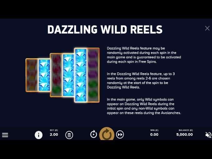 Dazzle Me Megaways Slot Feature