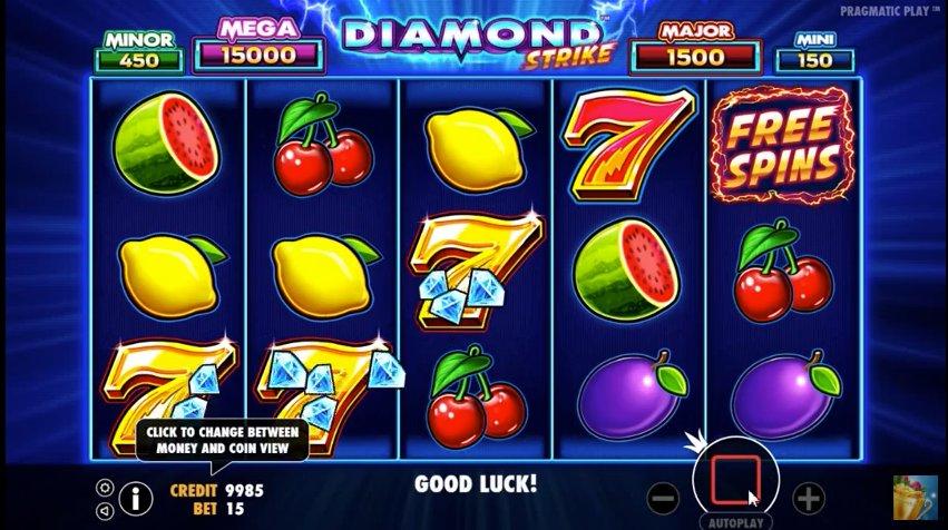 Diamond Strike Slots Reels