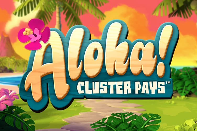 Aloha! Cluster Pays Slot Logo No Deposit Slots