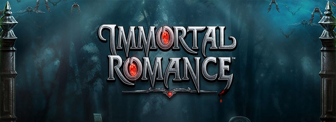 Immortal Romance Slot Banner