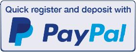 PayPal Deposits for nodepositslots.com