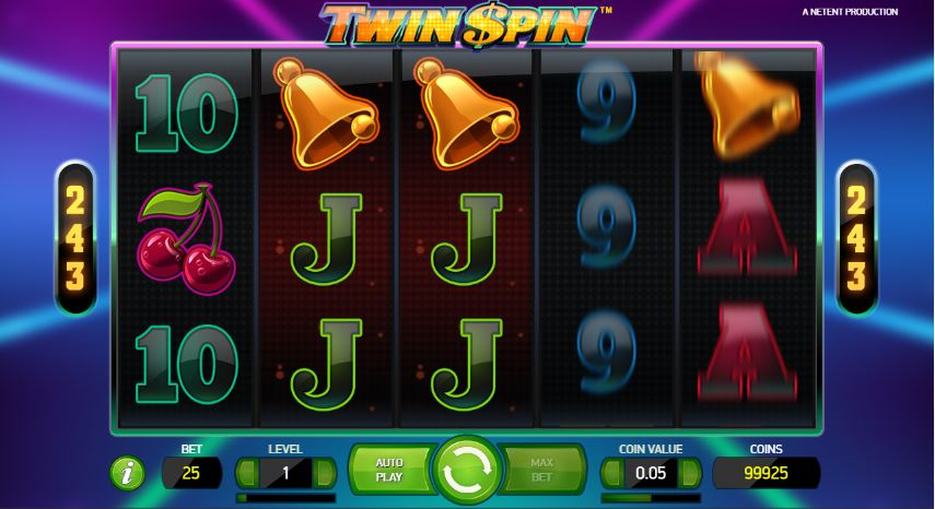 Twin Spin Slots Gamplay